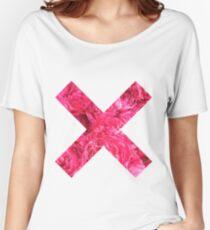 Pink petals  Women's Relaxed Fit T-Shirt