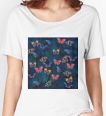 butterflies Women's Relaxed Fit T-Shirt