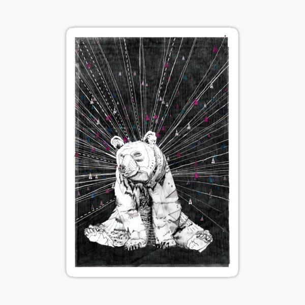 NORMAN // Bear Illustration Sticker