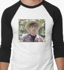 Puffy Jungkook in Hawaii Men's Baseball ¾ T-Shirt