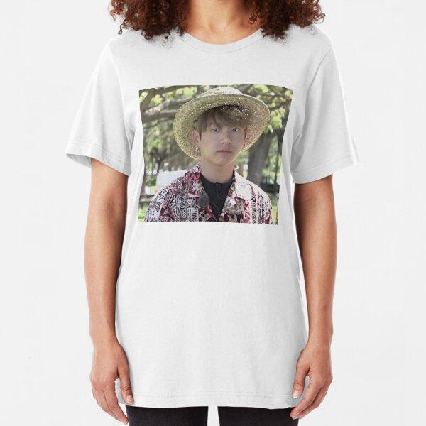 Puffy Jungkook in Hawaii Slim Fit T-Shirt