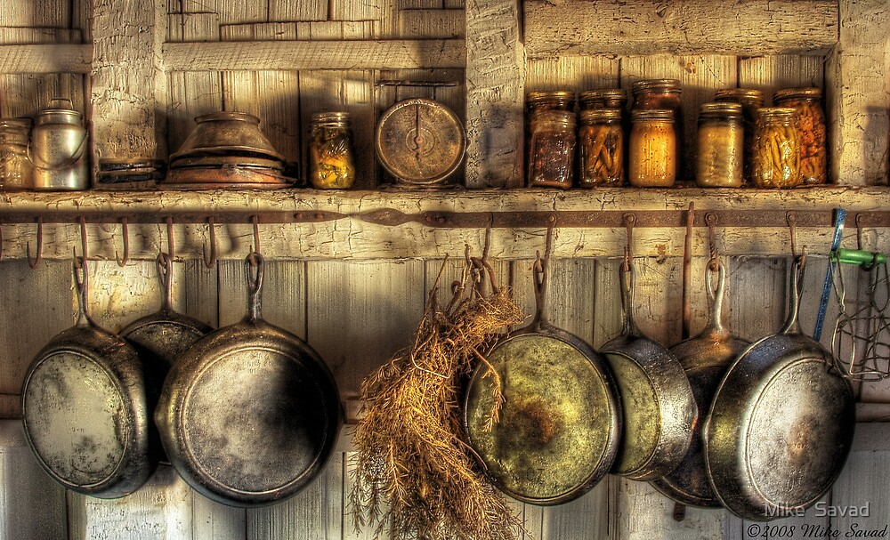 the old country kitchen quot the country kitchen quot by michael savad redbubble 6085