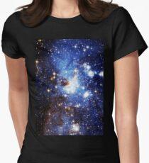 Blue Galaxy 3.0 Women's Fitted T-Shirt