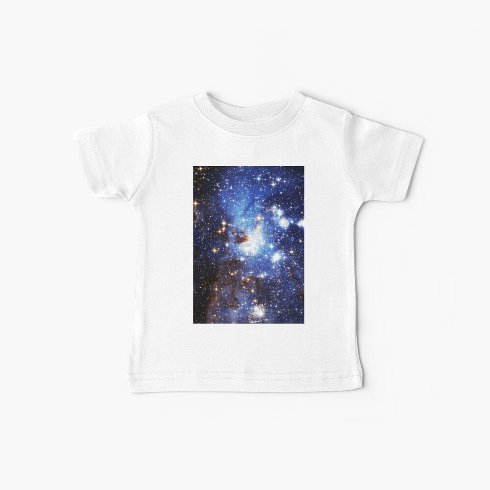 Blaue Galaxie 3.0 Baby T-Shirt