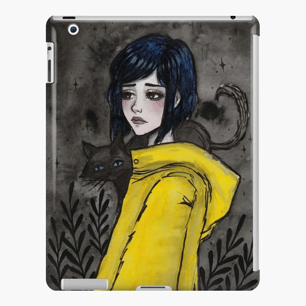 Gelber Regenmantel iPad-Hülle & Skin