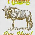 Holiday Card- Happy Gnu Year! by JungleCrews