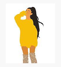 Yellow Sweatshirt Ari Photographic Print