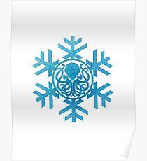 Snowflake Cthulhu Poster