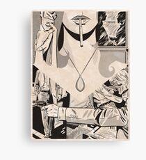 NOIR no.07 (Poster for an Unrealized Film) Canvas Print