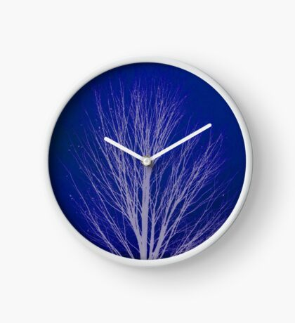 Winter Tree Clock