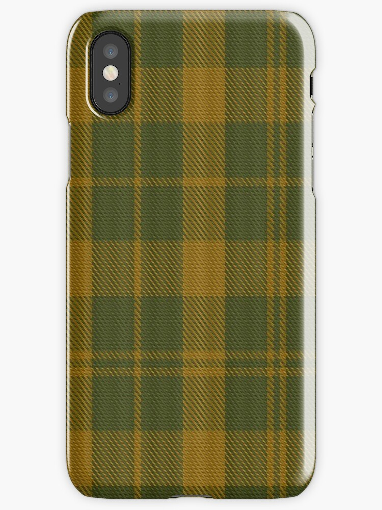 00770 Barbie's Moss Plaid (Green & Yellow) Tartan by Detnecs2013