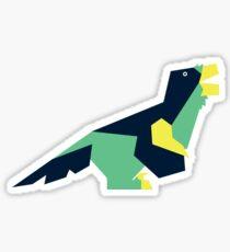 Dinovember Vector Art- Utahraptor Sticker