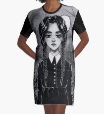 Inktober T-Shirt Kleid