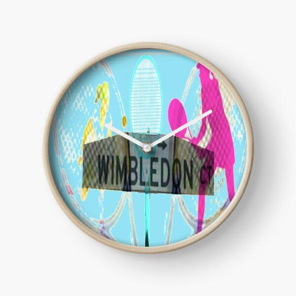Wimbledon Court Clock