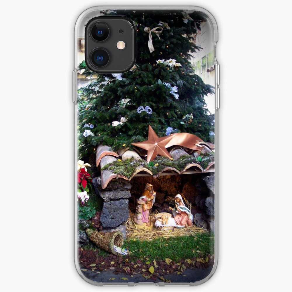 Christmas in Catania, Sicily, Italy iPhone Case & Cover