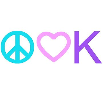 Peace, Love, and Books - New Tropical Colors by alittlebluesky