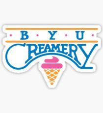 BYU Creamery Sticker