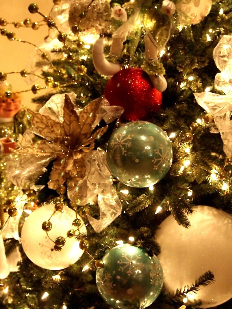 Christmas Decorations on the Tree by douglasewelch