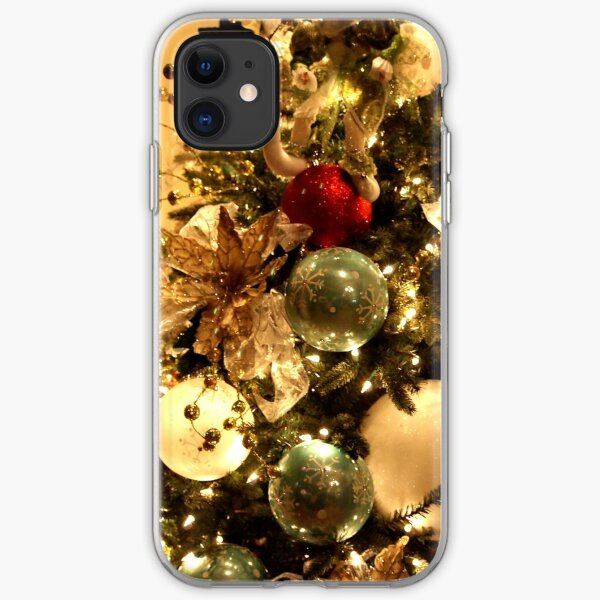 Christmas Decorations on the Tree iPhone Soft Case