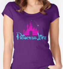 Princess Life Women's Fitted Scoop T-Shirt
