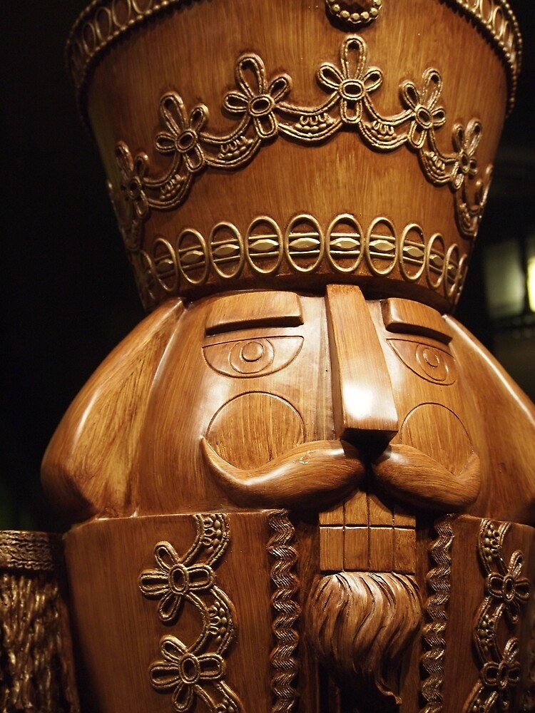 Wooden Nutcracker for Christmas by douglasewelch
