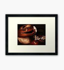 Espresso Bagagli Framed Print