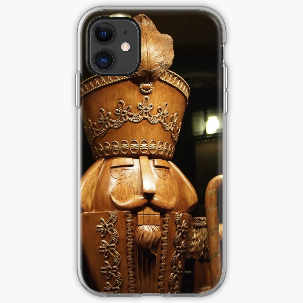 Wooden Nutcracker for Christmas 2 iPhone Case & Cover
