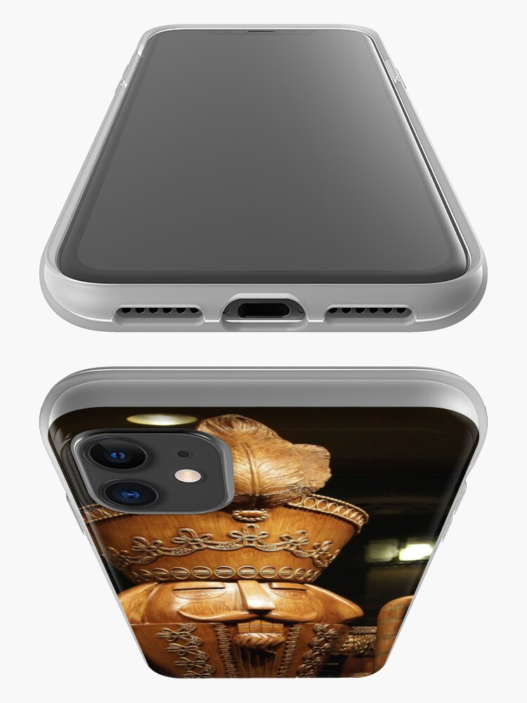 Alternate view of Wooden Nutcracker for Christmas 2 iPhone Case & Cover