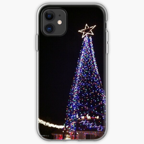Christmas Tree of Lights iPhone Soft Case