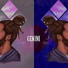 « Gemini Zodiac Sign » par Peculiar Mind