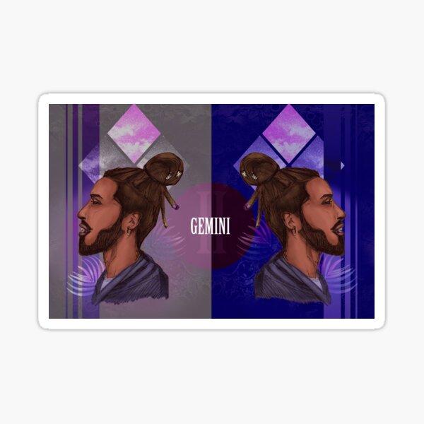 Gemini Zodiac Sign Sticker