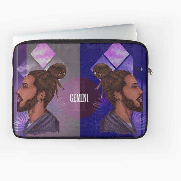 Gemini Zodiac Sign Housse d'ordinateur