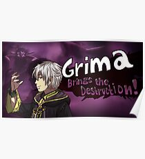 Grima Brings the Destruction! Poster