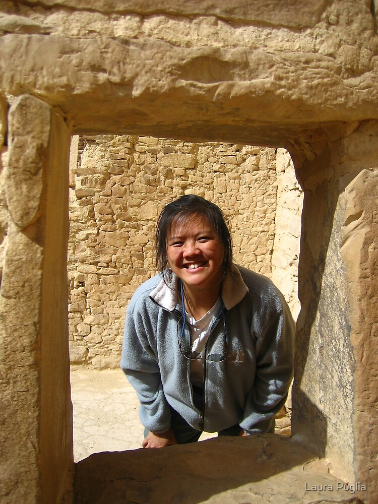 Laurie at Cliff Palace by Laura Puglia