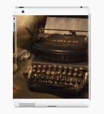 Typed nostalgia iPad Case/Skin
