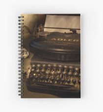Typed nostalgia Spiral Notebook