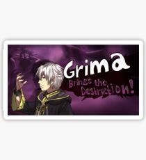 Grima Brings the Destruction! Sticker
