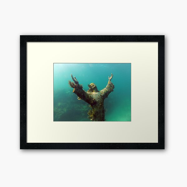 Christ of the Abyss Framed Art Print