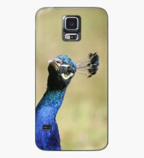 Curious peacock - Wiltshire, England Case/Skin for Samsung Galaxy