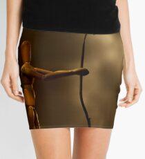 Wooden love Mini Skirt