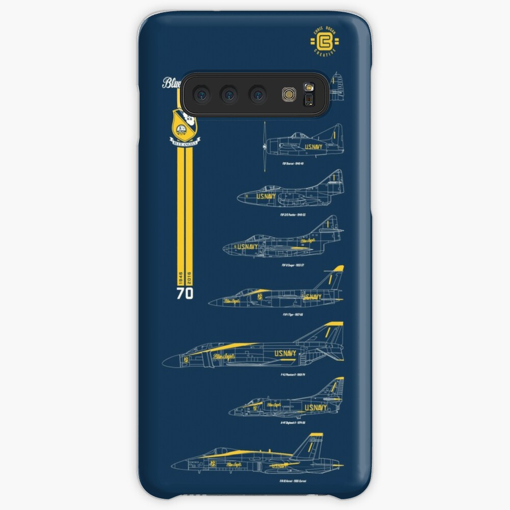 Blue Angels Chronology Blueprint Case & Skin for Samsung Galaxy