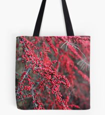 Red berries in Cambridgeshire, England Tote Bag
