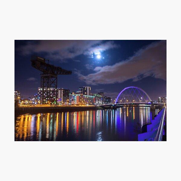 River City Night Photographic Print