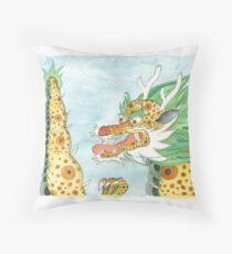 Korean Dragon I Throw Pillow