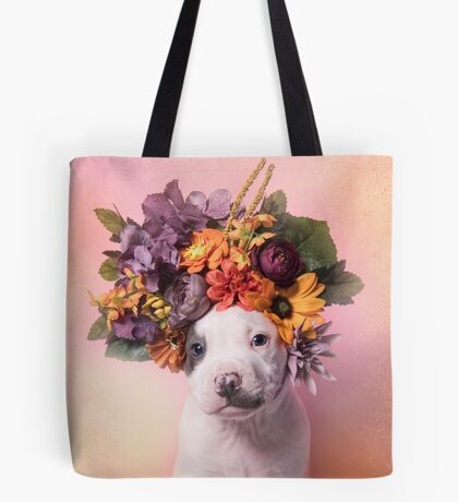 Flower Power, Doritos Tote Bag
