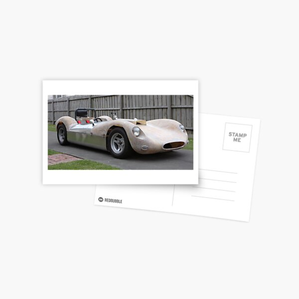 Road testing the Williams Special Postcard