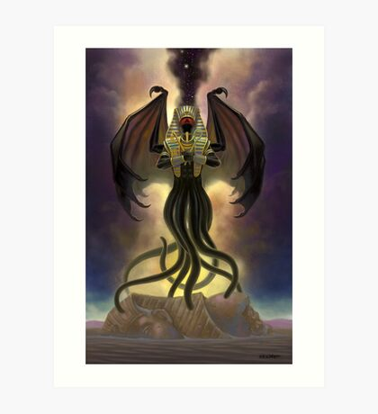 Nyarlathotep, The Crawling Chaos Art Print