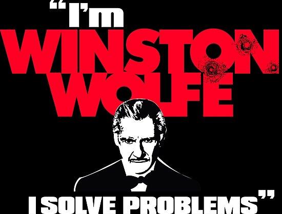 I'm Winston Wolfe. I solve problems. by sharkshock