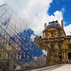 The Louvre Architecture by psychoshadow