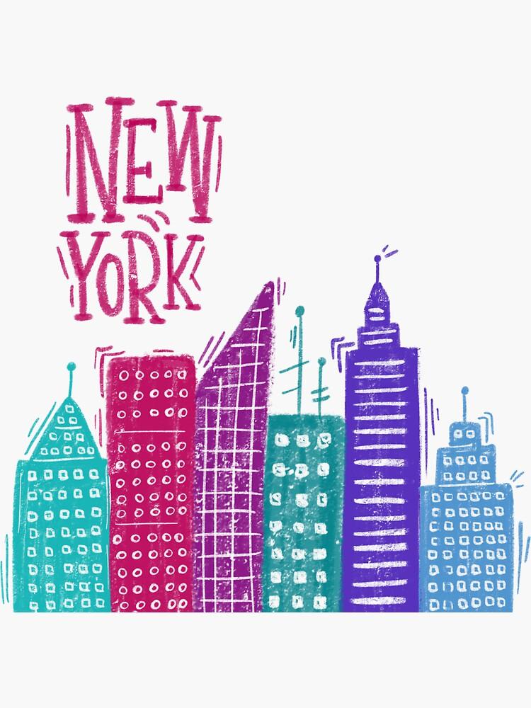 New York Pencil drawing by mirunasfia